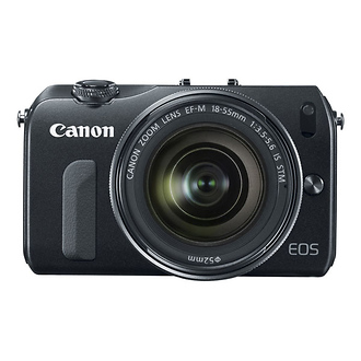 Canon | EOS-M Mirrorless Digital Camera with EF-M 18-55mm f/3.5-5.6 IS STM Lens | 6609B074