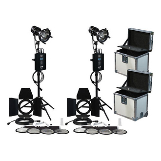 K 5600 Lighting | Joker-Bug 800W HMI 2 Case Pair Kit (90-265VAC) | K0800JBDOUB