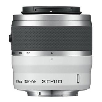 30-110mm f/3.8-5.6 1 Nikkor CX Format VR Lens (White) - Open Box*