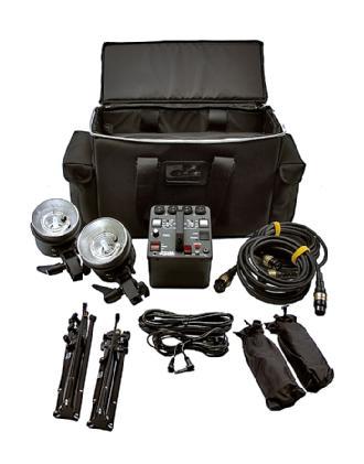Dynalite | MK4-1222V RoadMax 400W/s 2 Head Kit | MK4-1222V