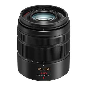 Panasonic | LUMIX G Vario 45-150mm f/4.0-5.6 ASPH Lens (Black) | HFS45150K