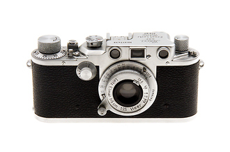 Russian IIIC Heer 35mm Rangefinder Camera + 50mm F/3.5 Elmar Lens (Used)