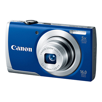 Canon | PowerShot A2600 Digital Camera (Blue) | 8160B001