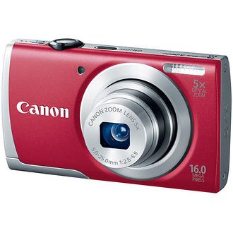 Canon | PowerShot A2600 Digital Camera (Red) | 8159B001