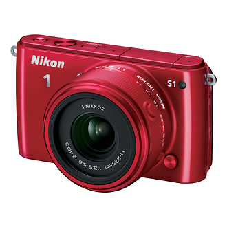Nikon | 1 S1 Mirrorless Digital Camera with 11-27.5mm Lens (Red) | 27619