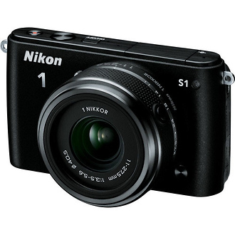 Nikon | 1 S1 Mirrorless Digital Camera with 11-27.5mm Lens (Black) | 27617