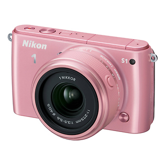 Nikon | 1 S1 Mirrorless Digital Camera with 11-27.5mm Lens (Pink) | 27620