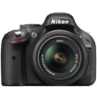 Nikon d5200 Digital SLR Camera Kit with 18-55mm Lens (Black)