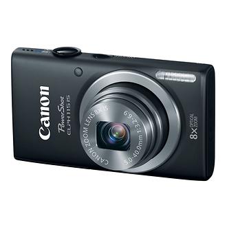 Canon | PowerShot ELPH 115 IS Digital Camera (Black) | 8599B001