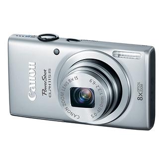 Canon | PowerShot ELPH 115 IS Digital Camera (Silver) | 8602B001