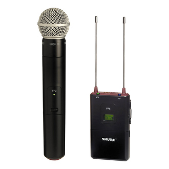 Shure | FP Handheld Wireless System | FP25SM58