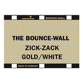 California SunBounce | Bounce-Wall (Zig-Zag Gold/White) | C000B421