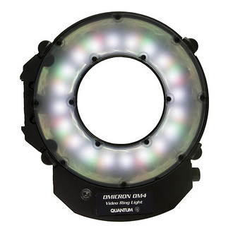 Quantum Instruments | OMICRON 4 LED Video Ring Light | OM4