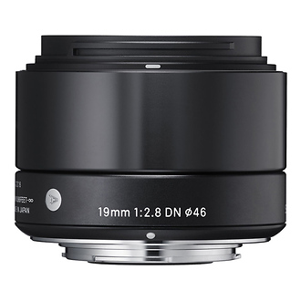 Sigma | 19mm f/2.8 DN Lens for Sony E Mount (Black) | 40B965