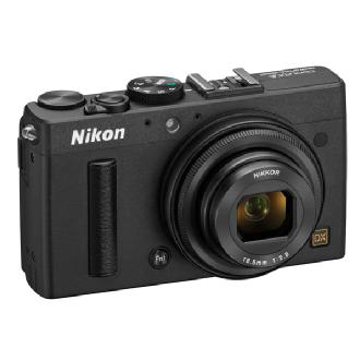 Nikon | COOLPIX A Digital Camera (Black) | 26423