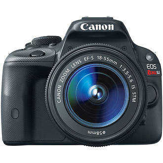 Canon | EOS Rebel SL1 Digital SLR Camera with EF-S 18-55mm f/3.5-5.6 IS STM Lens | 8575B003