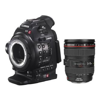 Canon | EOS C100 Cinema Camera With EF 24-105 Lens | 6340B010