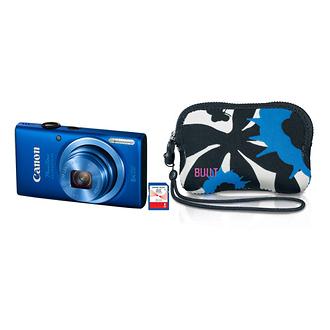 Canon PowerShot ELPH 115 IS Digital Camera Deluxe Kit (Blue)