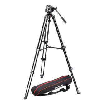Manfrotto | MVH500A Head with MVT502AM Legs and Bag | MVK500AM