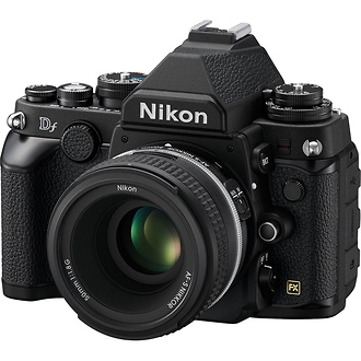Nikon | Df Digital SLR Camera with 50mm f/1.8 Lens (Black) | 1527