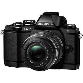 Olympus | E-M10 16Megapixels With ED 14-42mm (Black) | V207021BU000