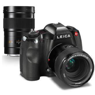 Leica S Edition 100 Medium Format Digital SLR Camera with 30mm and 70mm Lenses Kit