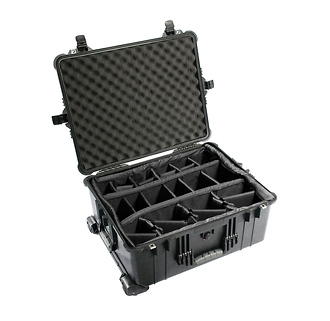 Pelican | 1614 Waterproof 1610 Case with Dividers (Black) | PC1614B