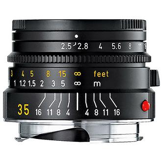 35mm f/2.5 Summarit-M Manual Focus Lens (Black)