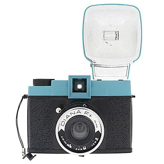 Diana F+ Medium Format Camera with Flash