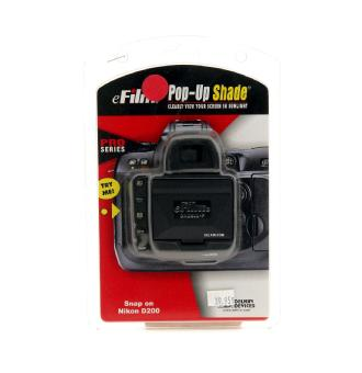 Pop-up Pro Shade for Nikon D-200 LCD Screen