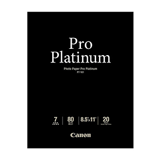 Canon | Photo Paper Pro Platinum, 8.5x11in., 20 Sheets | 2768B022