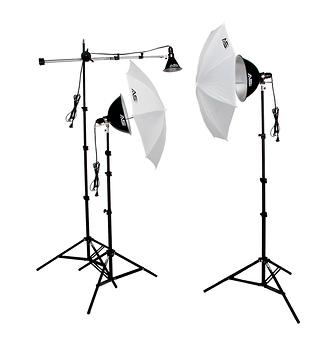 KT900 3 Light 1250-Watt Thrifty Mini-Boom Kit