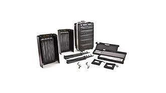 Diva Lite 401 2 Light Kit with Flight Cas