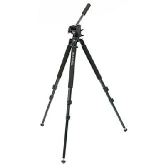 DST-3 Lightweight 2-Stage Tripod with Fluid Head