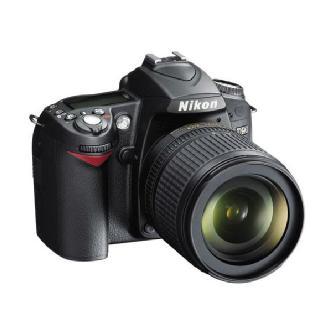 D90 Digital SLR Camera with 18-105mm VR Lens