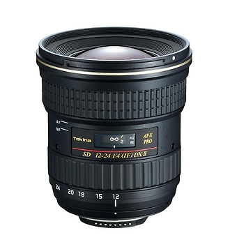 Tokina 12-24mm Lens for Canon Camera