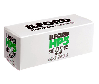 HP5 Plus 120 Black & White Negative Film (ISO-400)