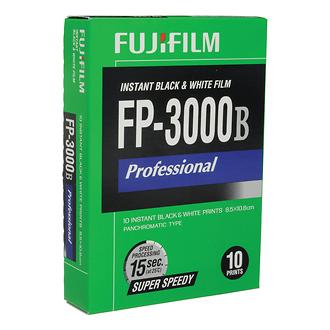 Fuji | FP-3000B Super Speedy B&W Instant Film 3.25 x 4.25