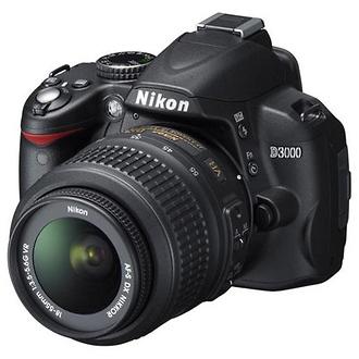 D3000 Digital SLR Camera with 18-55mm VR Lens