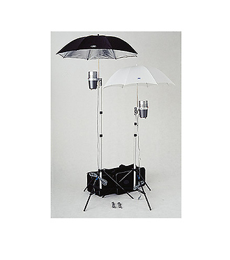 DL-320 Dual Light Kit with Two J-160 Monolight Strobes