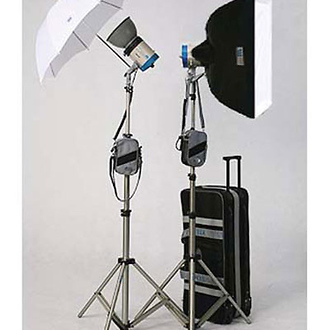 DL-600 Mobilight Soft Box Kit with 2 Mobilight 301