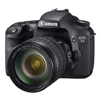 Canon | EOS 7D Digital SLR Camera with 28-135mm f/3.5-5.6 IS USM Lens | 3814B010