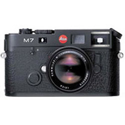 M7 TTL .72 35mm Rangefinder MF Camera Body - Black