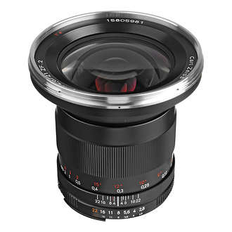 Zeiss | Ikon Wide Angle 2.8/21mm Distagon T* ZF.2 Series Lens for Nikon F Mount SLR Cameras | 176782