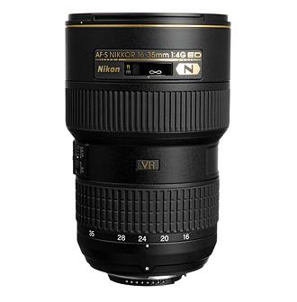 Nikon   Nikkor 16-35mm f/4.0G AF-S ED VR Wide Angle Zoom Lens   2182