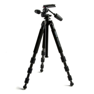 PRO 624PX Carbon Fiber Tripod with 3-Way Panhead & Quick Release