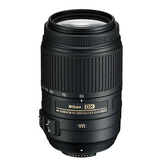 AF-S NIKKOR 55-300mm f/4.5-5.6G ED VR Zoom Lens