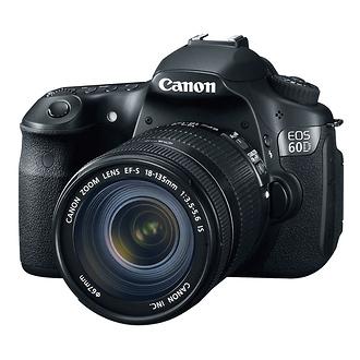 Canon | EOS 60D Digital SLR Camera Kit with Canon 18-135mm Lens | 4460B004