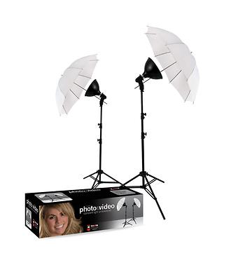 2-Light uLite Umbrella Kit
