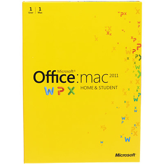 MS Office for Mac Home and Student 2011
